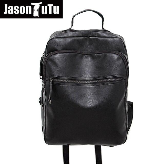 a0a73122257 JASON TUTU Merk mannen rugzak multi-layer rits dubbele schoudertas Tiener  laptop rugzak Goede kwaliteit