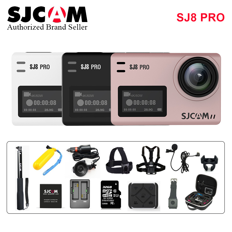 Original Sjcam Sj8 Pro Stabilisator Action Kamera 4 Karat Wasserdichte 8 Digital Zoom Sport Action Cam Wifi Remote Video Kamera Hd Dvr Ca Rheuma Und ErkäLtung Lindern Sport & Action-videokamera