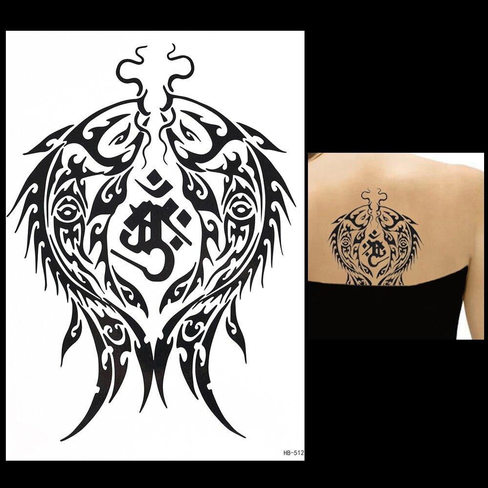 ᑎ‰Nueva 1 unidades negro Cuerpo arte tatuaje para las mujeres ...