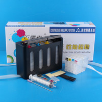 Continuous Ink Supply System Universal 4Color CISS kit with accessaries ink tank for HP hp 8100 8600 950 951