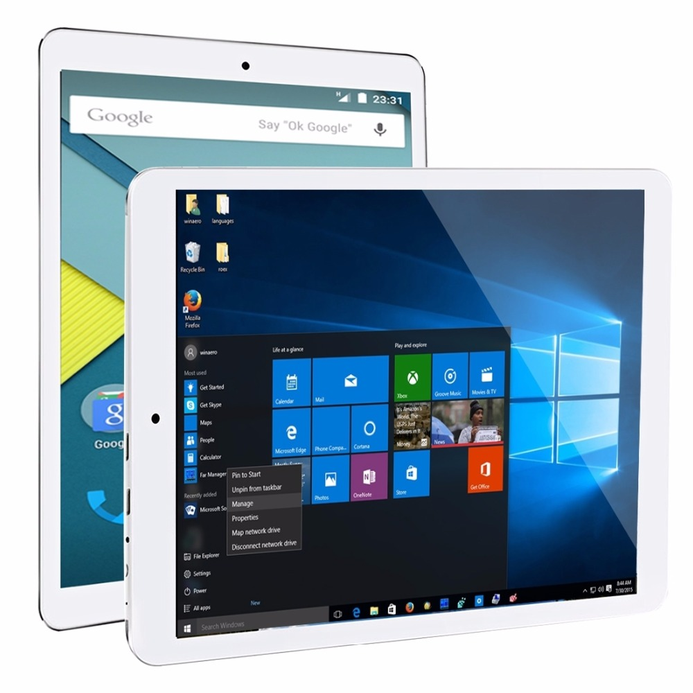 Original 9 7 inch Teclast X98 Plus II tablets Intel Cherry Trail X5 Windows 10 Home