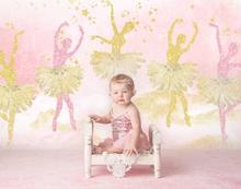 قران خلفية باليه لحديثي الولادة ، وخلفية استوديو الصور الأزهار ، وديكورات أعياد الميلاد