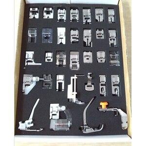 Image 5 - Прижимная лапка для домашней швейной машины, набор прижимных лапок для плетения слепых швов для Brother Singer Janome, 32,42,48,52