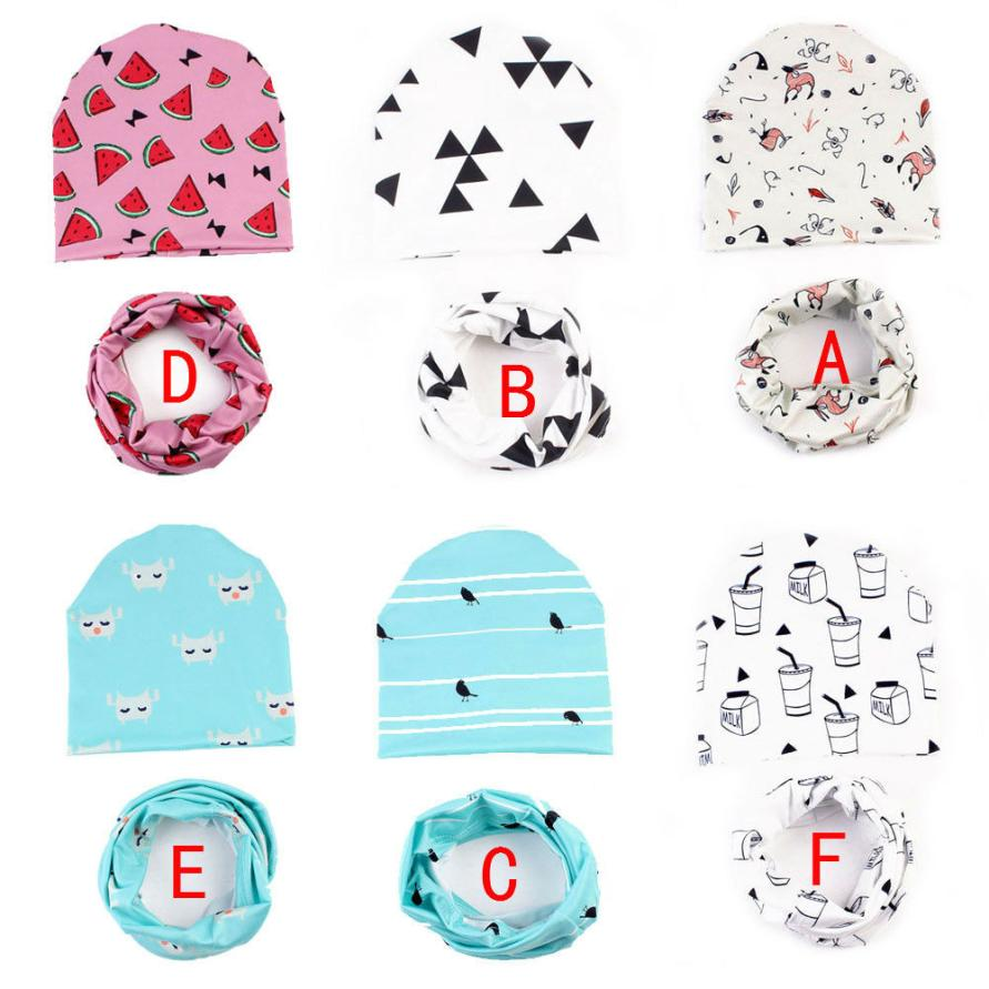 Boys' Baby Clothing Baby Unisex Hat 6color Spring&autumn New Crochet Girl&boy Cap Kids Beanie Cartoon Infant Hat Children Collar Scarf 18apr13 Rapid Heat Dissipation
