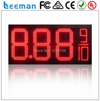 Leeman 10inch 12 LED Gas Price Sign Price LED Screen Digital Alibaba Cn 12 Inch Red