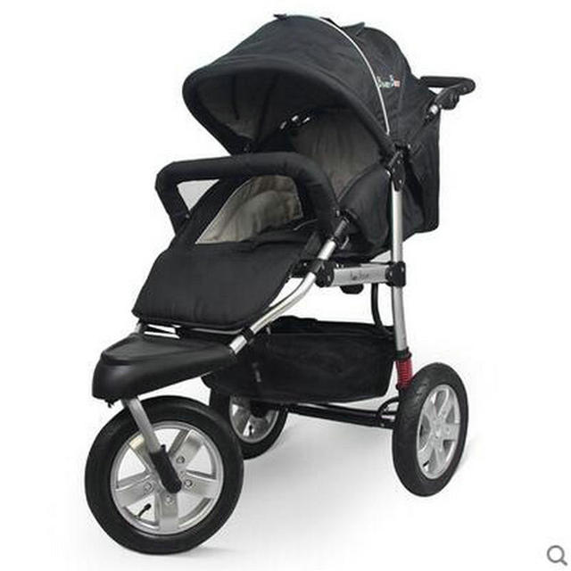 Moda de alta qualidade durável frame da liga de alumínio do bebê carrinho de bebê carrinho de criança alta paisagem carrinho de bebê portátil dobrado