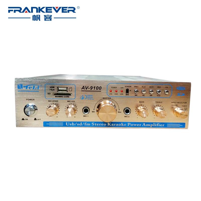frankever hi fi digital amplifiers audio stereo subwoofer super power amplifier for home theater. Black Bedroom Furniture Sets. Home Design Ideas