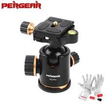 Pergear TH3 Pro tripod döngüsü Kafa 8 KG Yükleme Kapasiteli 360 Derece Döner Panoramik Monopod DSLR Kamera Metal Yapı Kaliteli