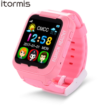 ITORMIS Smart Baby Watch W03 Children Kids Security Safety GPS Location Finder Tracker Phone Call SOS for iOS Android