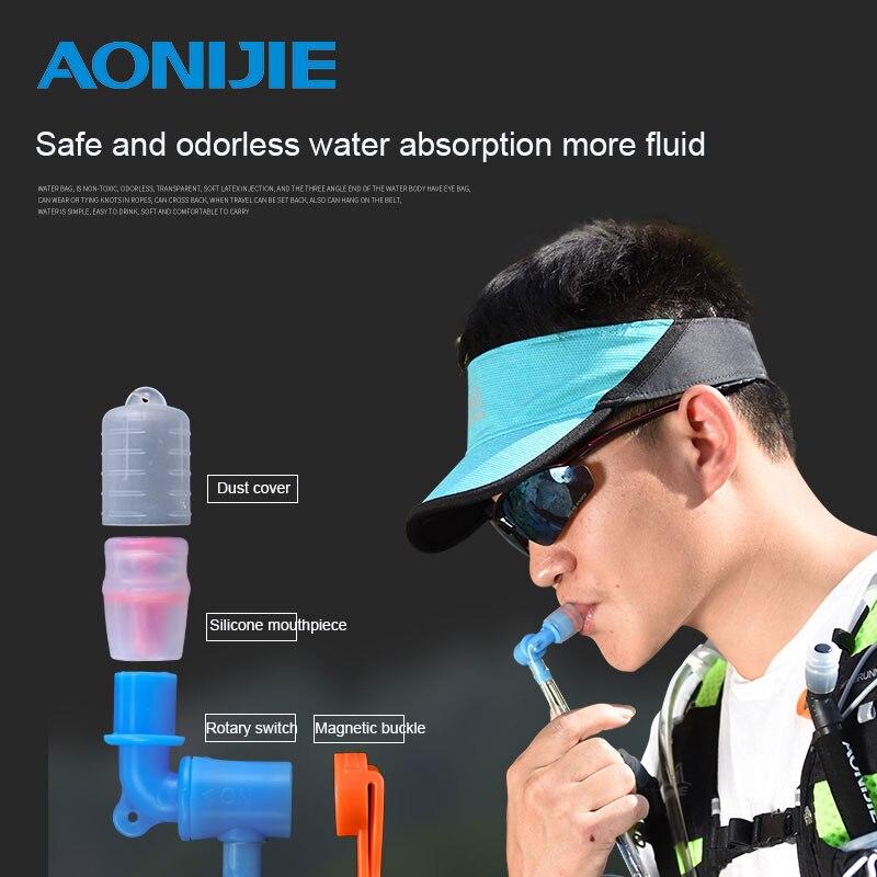 AONIJIE TPU Water Bag Men Women Outdoor Sport Hydration Bladder Riding Running Camping Folding Water Holder 1.5L/2L