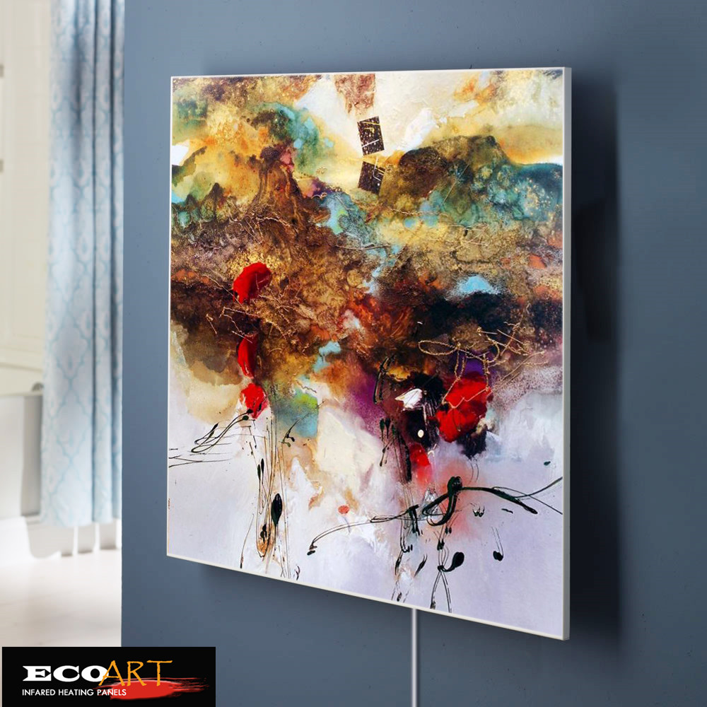 Eco Art Heating 360w Custom Design Oil Painting Infrared