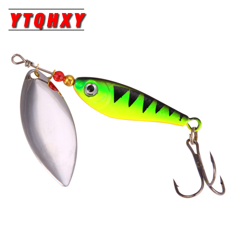 Hight Quality Spinner Spoon Baits Fishing Lure Isca Artificial Pesca 11g 15g 20g Wobbler Metal Sequins Lurs Carp Fishing WQ208 1pcs 12cm 14g big wobbler fishing lures sea trolling minnow artificial bait carp peche crankbait pesca jerkbait ye 37