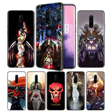 Overlord Anime Soft Black Silicone Case Cover for OnePlus 6 6T 7 Pro 5G Ultra-thin TPU Phone Back Protective