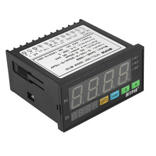 Mètre multifonctionnel de capteur de affichage LED numérique de cc 24 V avec la sortie dalarme de 2 relais et lentrée 0 ~ 10 V/4 ~ 20mA/0 ~ 75mV