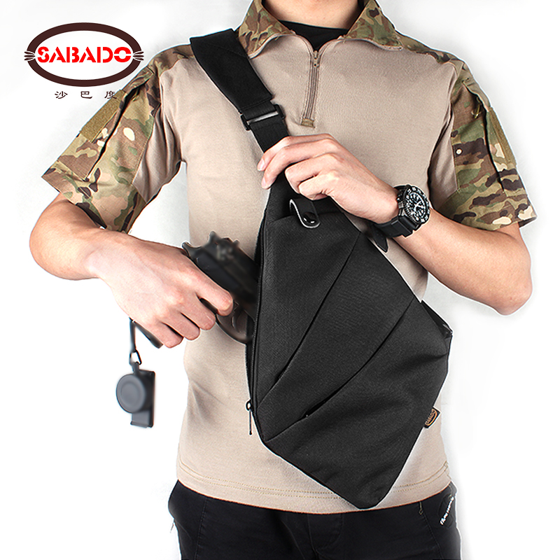 Outdoor tactical 1000D PVC water proof light portable dry holster bag softbag messenger gun conceal hide holsters