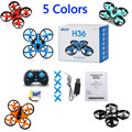 Nihui nh-010 furibee f36 rc quadcopter jjrc h36 mini de 6 ejes Gyro RC Quadcopter con Headless Modo/Velocidad Interruptor LED RC Del Juguete Del Cabrito