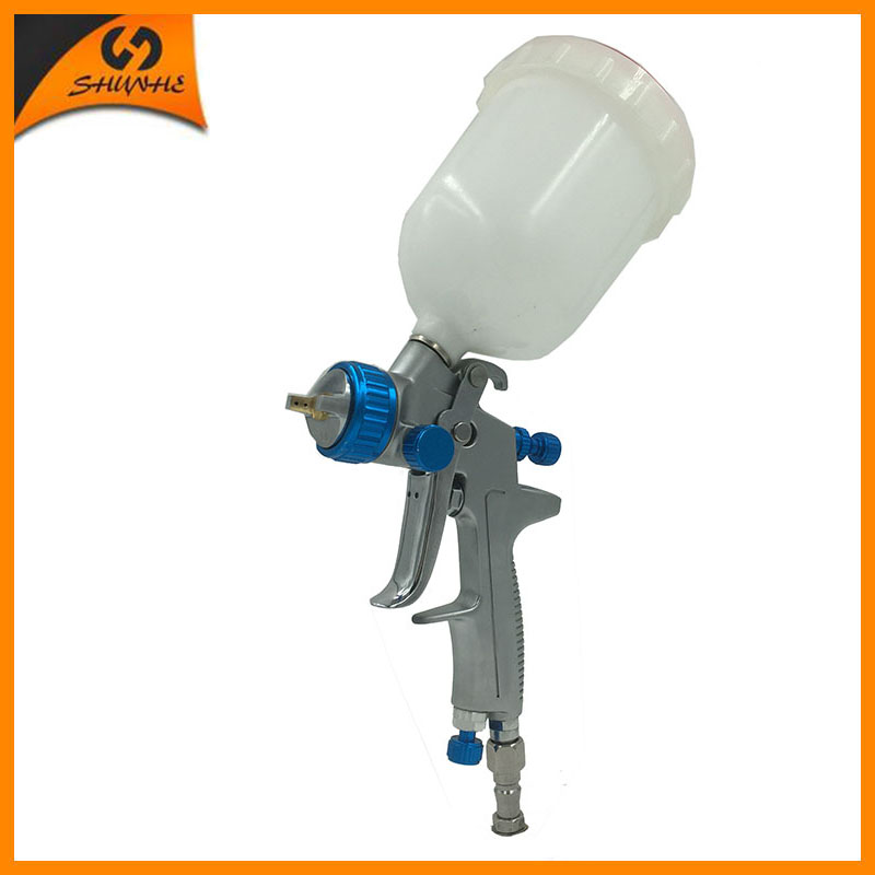 цена на SAT0079 pneumatic paint gun lvmp air brush car painting gun spray gun gravity professional lvmp sprayer pneumatic air tool paint