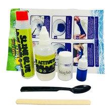 Пушистый Floam слизь комплект Playdough Кристалл грязи, делая комплект из полимерной глины для детских подарков образования детей глины игрушки