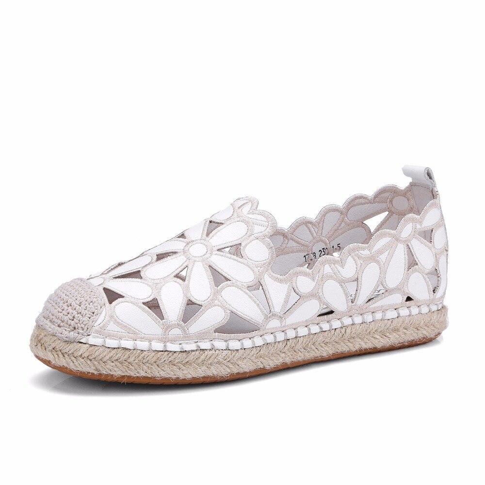Black Sandales Plat 2018 Rond Chaussures D'été Bout Conduite Pour white Femmes Mode Confortable Blanc Des Occasionnels Sur Pêcheur Glissement Femme De Dames qqSRAUF