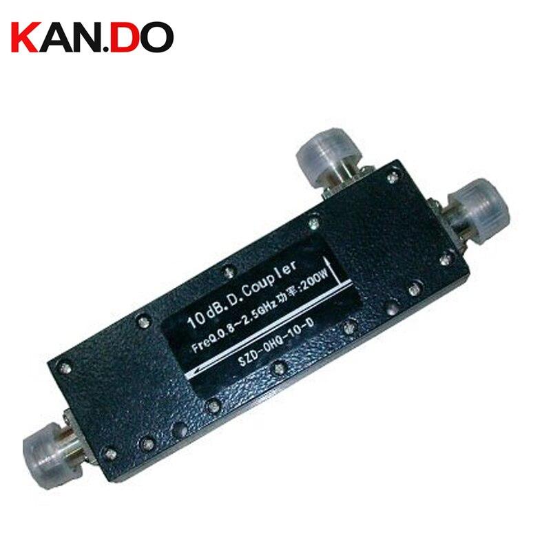 10 pcs/lot, 10dbi, fréquence 800-2500 Mhz directionnelle Coupleur de Puissance pour la communication radio dispositif d'attelage pour telecom utiliser
