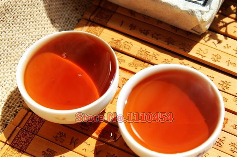 25 years old Puer tea health care pu er tea pu erh compressed pu'er brick Puerh Yunnan ancient trees fragrant old brick tea