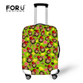 Cute Big Mouth Monkey Luggage Covers Cartoon Protective Suitcase Cover Trolley Case Travel On Road Cover for 18 to 30 inch Case