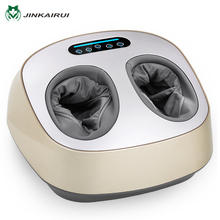 JinKaiRui Electric Foot Massager Health Care Massage Infrared With Heating Therapy Shiatsu Kneading Air Pressure Machine