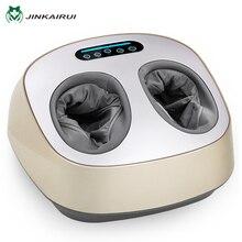 JinKaiRui Électrique Vibrateur Massage des Pieds Soins de Santé De Massage Infrarouge Chauffage Thérapie Shiatsu Pétrissage Machine À Pression D'air