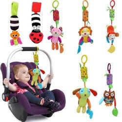 Горяч-продавая Детские Подарочные новые детские игрушки кольцо для мобильного детские плюшевые постель с игрушкой колокольчиков Колоколь...