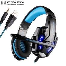 KOTION EACH G9000 3.5mm Gaming Headphones casque Stereo Earp