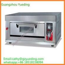 Дизайн Китай мануфактура 1 колода 1 поддон для духовки печь для пиццы хорошее качество хлебобулочная печь