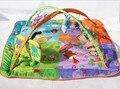 Детские музыкальные развивающихся тренажерный зал коврик коврик для детей