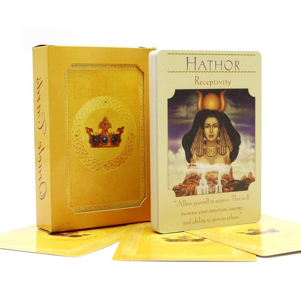 volle englische Göttin Orakel Karten Deck 44 Karten, Tarotkarten - Unterhaltung