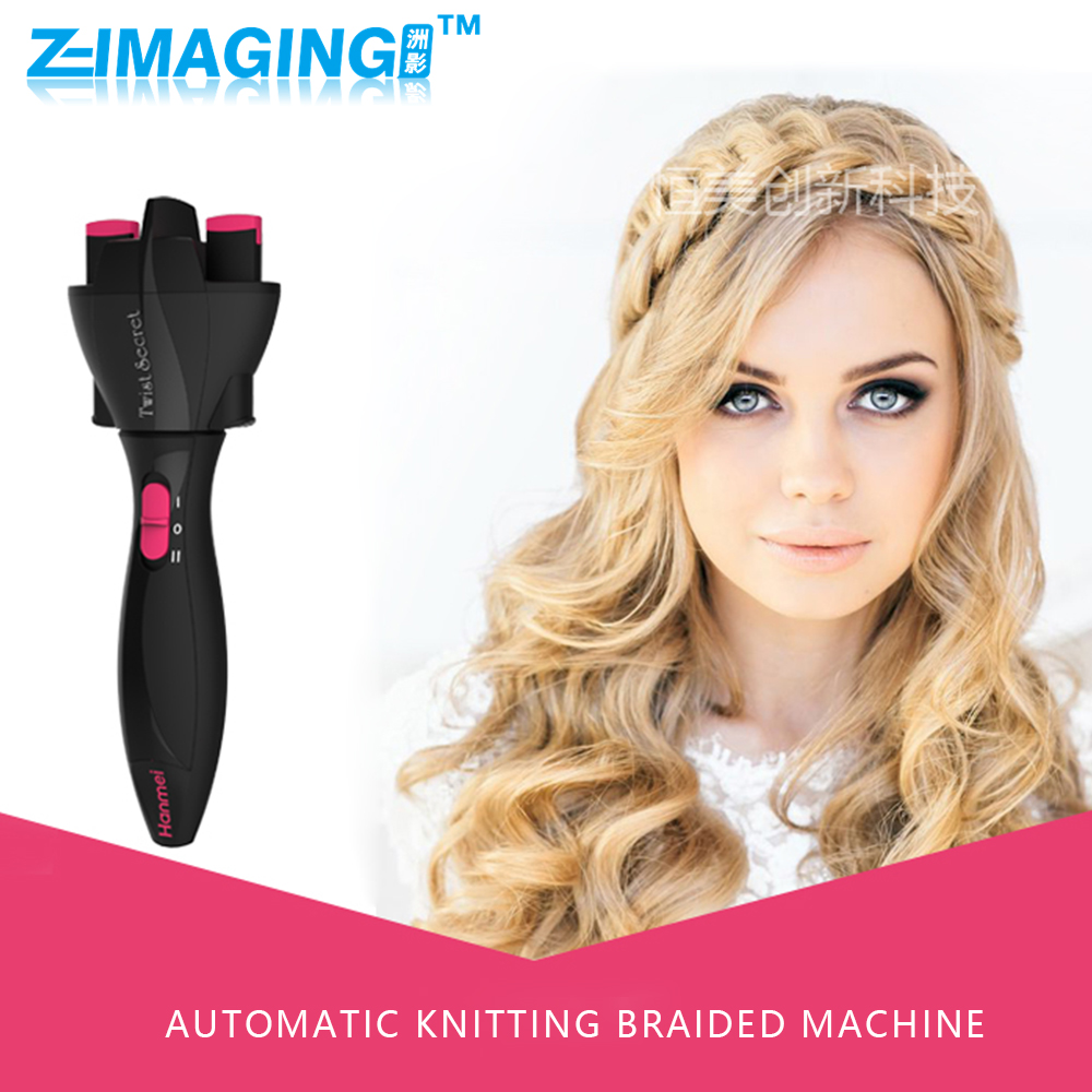 Professional Hair Styling electric Tools Useful Fashion Braided Tress Horsetail Braider Hair Salon Tools Hair Accessories