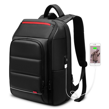 15.6 inch Laptop Backpack For Men Water Repellent Functional Rucksack bag with USB Charging Port Travel Backpacks bags mochila