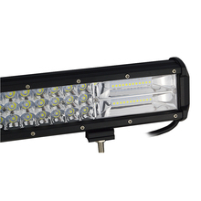 Auxtings 17-18inch 252w Tri rows movable bracket IP67 waterproof high power high lumens 7D LED light bar offroad 4×4 car light