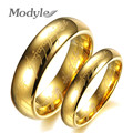 2016 New Hot The Lord of the Rings Tungsten Ring Gold Plated Ring 6MM and 4MM for Men and Women Gifts Wedding Jewelry