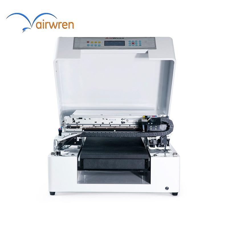 CE Approved AR-LEDMini4 280mmx420mm Flatbed UV Printer