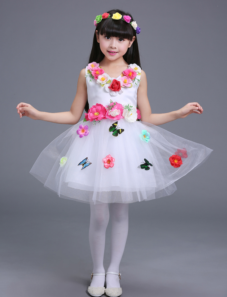 Children Birthday 2 3 4 5 6 7 To 16 Year Girl Dresses Dancer Costume Easter Outfits for Girls Flower Fancy Girl Dress агхора 2 кундалини 4 издание роберт свобода isbn 978 5 903851 83 6