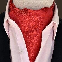 20 Styles 2019 Men Vintage Wedding Formal Polyester Silk Paisley Scarf Polka Dot Scarves Cool Jacquard Cravat Elegant Neck Ties