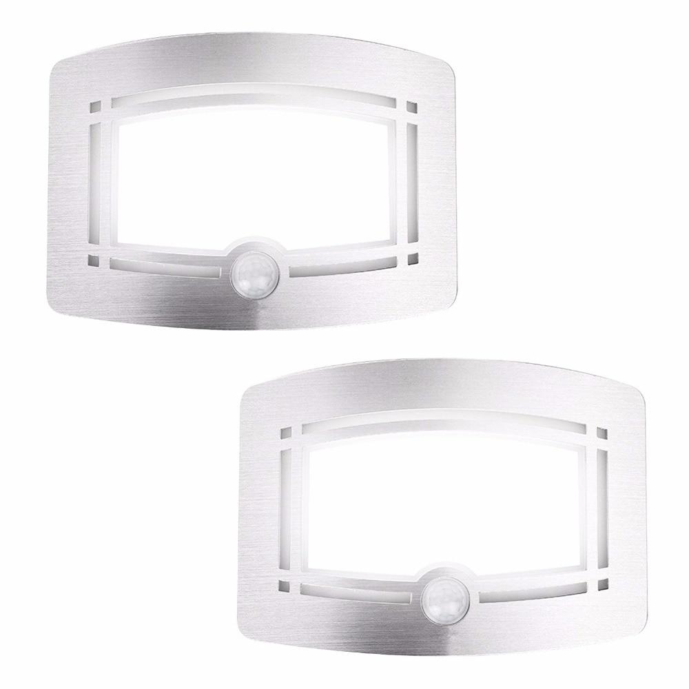 Drahtloser Bewegungssensor aktiviert LED-Wandnachtlicht - Nachtlichter - Foto 6