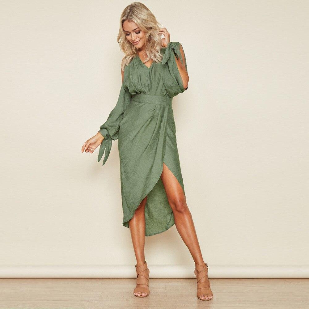 CHAMSGEND 2018 Fashion New Women Summer Dress Boho Sexy Mini Dress Evening Party Beach Dresses Casual Style Female Sundress