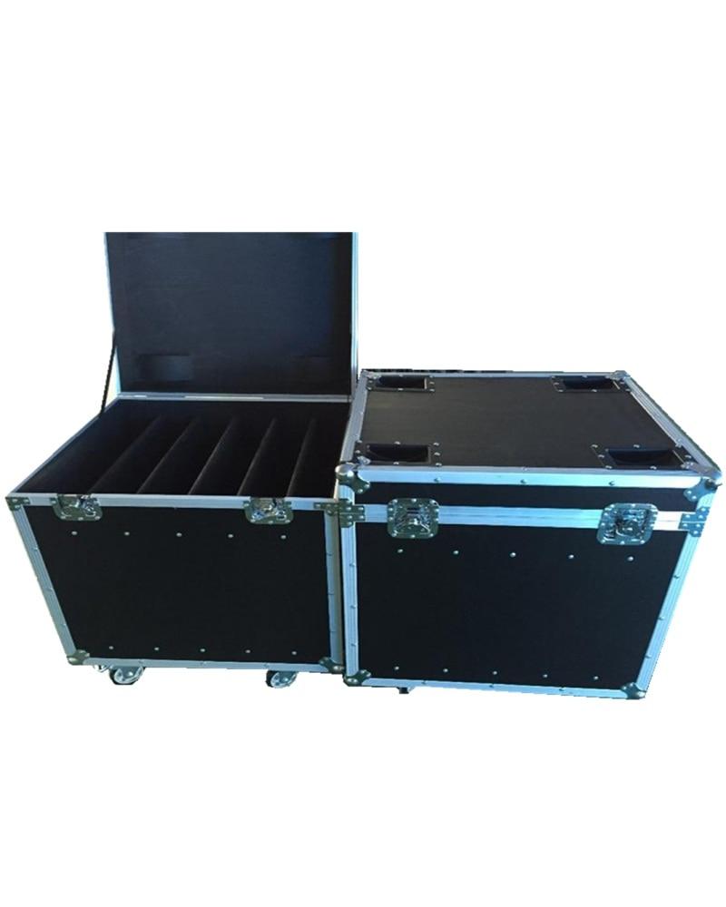 P3 Die Casting Aluminum Flight Case 576mmX576mm Aluminium Die Casting Cabinet P3 And P6 Flight Case 1 Pack 6 Flight Case