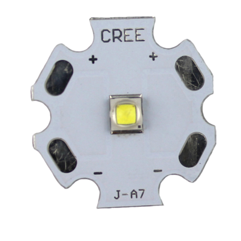 <font><b>5W</b></font> <font><b>CREE</b></font> XP-G2 R5 1.5A 500lm Cold White <font><b>LED</b></font> Emitter with 20mm Heating Star image