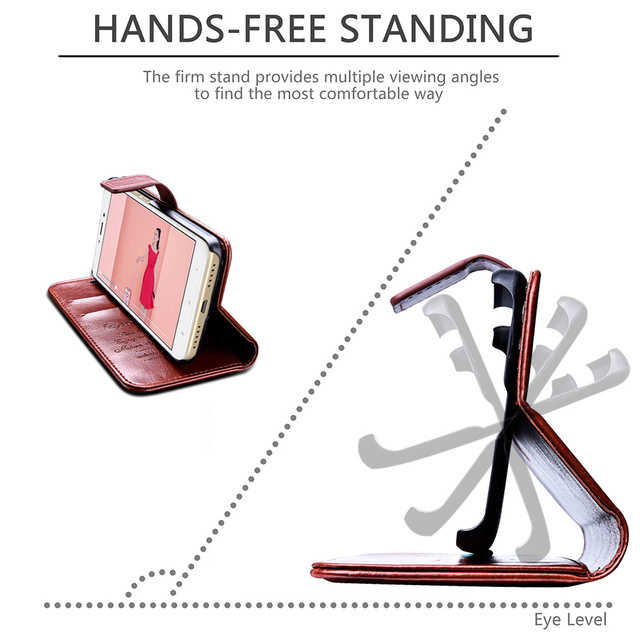 Wallet Flip PU Leather Cover Cases 2