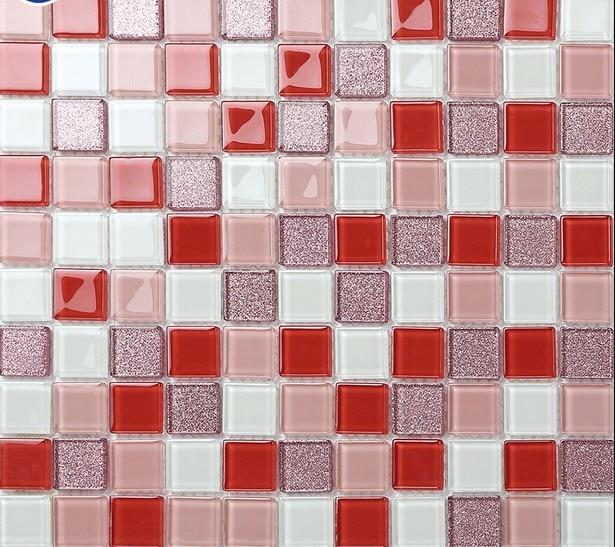 online kaufen großhandel roten mosaik fliesen aus china roten, Hause ideen