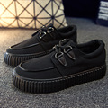 Женщина повседневная обувь твердые холст обувь размер 35-40 chaussure femme босоножки лето черный/белый/геометрия женщины обувь на плоской подошве