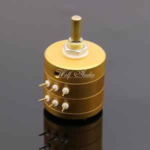 Image 3 - New 24 Steps Dual Channel Serial Type Volume Potentiometer Vishay Dale Resistors For Amplifier