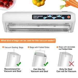Image 5 - LAIMENG Vacuum Food Sealer Packing Machine Vacuum Bags Food Saver Vacuum Packer 110V 220V Package Sealer For Packaging S139