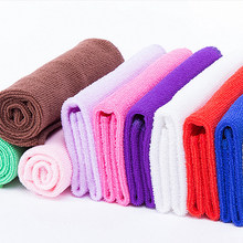 Newest 10PCS Absorbent Microfiber Towels Hand Towel Kitchen Dishcloth Dishrag Washcloth(China)
